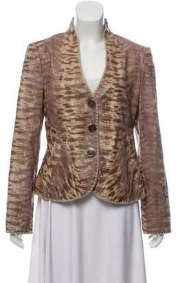 Giorgio Armani Leather Embossed Jacket