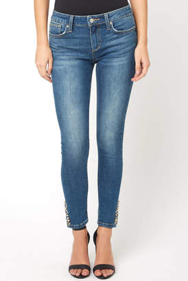 Joe's Jeans The Icon Gem Slit Ankle Skinny Jean