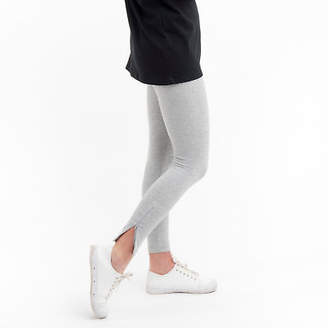 NEW Ankle Zip Legging in Grey Marle Women's by Miles From