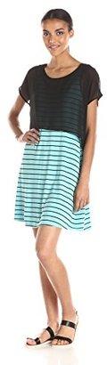 Kensie Women's Jersey Striped Dress $22.62 thestylecure.com