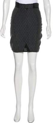 Jean Paul Gaultier Quilted Mini Skirt