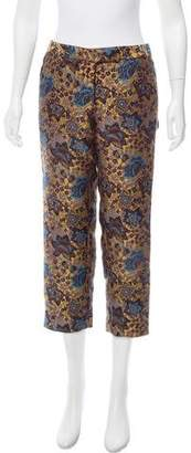 Creatures of the Wind Brocade Mid-Rise Pants