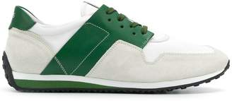Tod's contrast panel sneakers