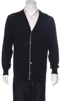 Paul Smith Knit V-Neck Cardigan