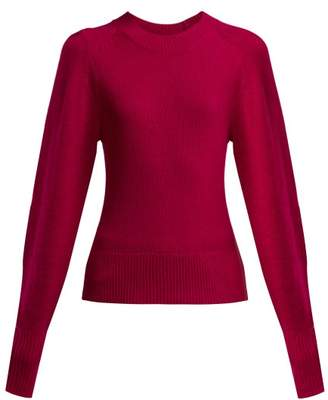 Isabel Marant Conroy Cashmere Sweater - Womens - Dark Pink