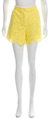 Tara Jarmon Lace Jaune Shorts w/ Tags