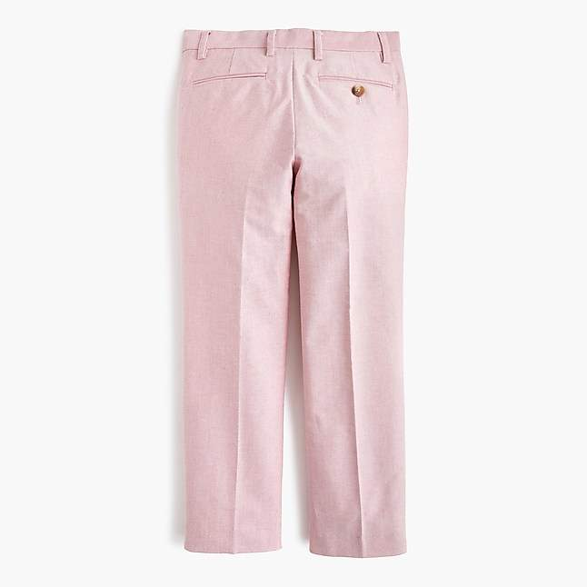 Boys' Ludlow suit pant in stretch oxford cloth