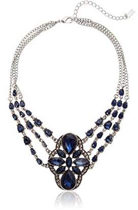 1928 Jewelry Silver-Tone Statement Necklace