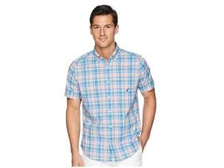 Nautica Break Water Stretch Medium Plaid Shirt