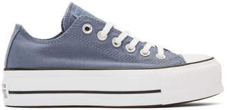 Converse Blue Chuck Taylor All Star Lift Sneakers