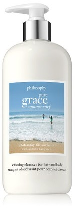 Philosophy Pure Grace Summer Surf Softening Cleanser For Hair And Body $37 thestylecure.com