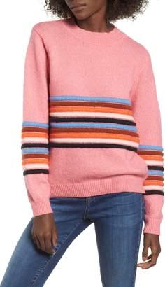 Love By Design Textured Stripe Sweater