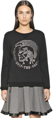Mohican Cotton Blend Jersey Sweatshirt $158 thestylecure.com