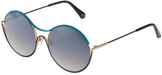 Balmain Round Metal Sunglasses
