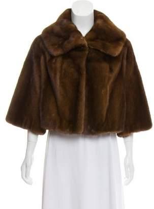 Adrienne Landau Mink Fur Jacket