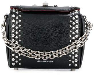 Alexander McQueen embellished Box bag