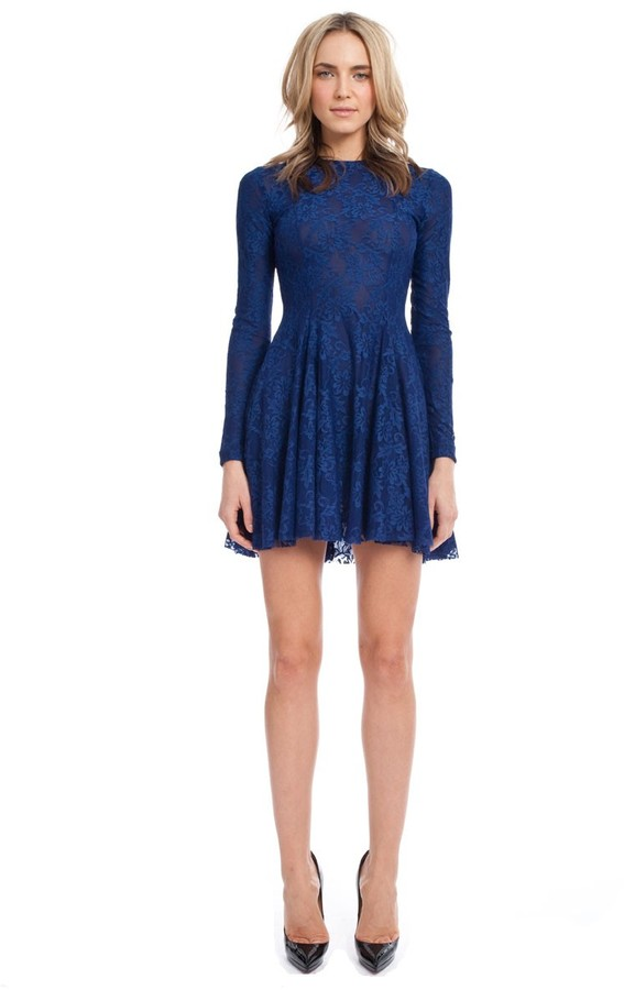 Torn By Ronny Kobo Isabel Lace Dress