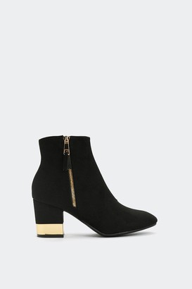 Nasty Gal Making Money Moves Ankle Boot