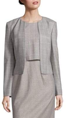 HUGO BOSS Jafina Windowpane Jacket