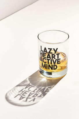 Urban Outfitters India K For Active Mind Lowball Glass