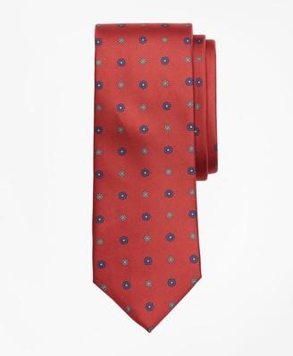 Brooks Brothers Flower Medallion Print Tie