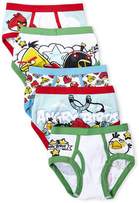 Angry Birds (Boys 4-7) 5-Pack Printed Briefs
