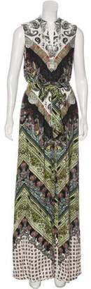 Alice + Olivia Paisley Print Maxi Dress