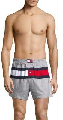 Tommy Hilfiger Colorblock Cotton Shorts