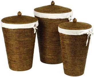 Napa Home & Garden Burma Laundry Hampers (Set of 3)