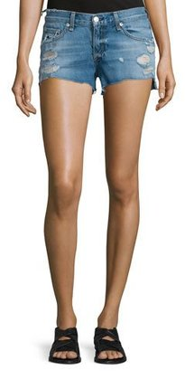rag & bone/JEAN Cutoff Distressed Denim Shorts, Gunner $175 thestylecure.com