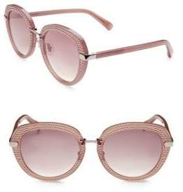 Jimmy Choo Moris 52MM Round Sunglasses
