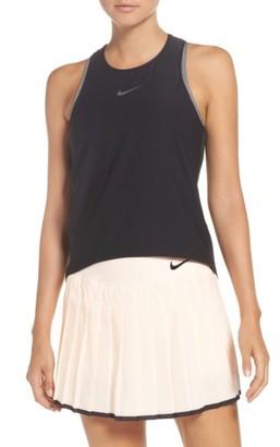 Women's Nike Maria Breathe Racerback Tank $65 thestylecure.com