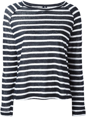 Woolrich striped longsleeve top $98.95 thestylecure.com