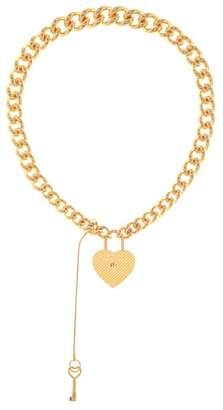 Balenciaga Chunky metal necklace
