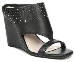 Fergie Reflex Studded Leather Mules