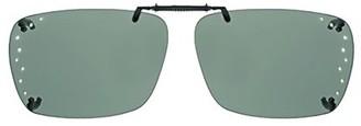 SOLAR SHIELD Solar Shield Unisex Rimless Polarized SolarShield ClipOn Sunglasses SC03