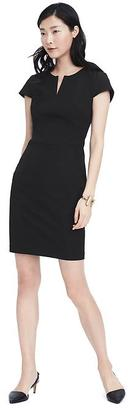 Bi-Stretch Angled Seam Dress $128 thestylecure.com