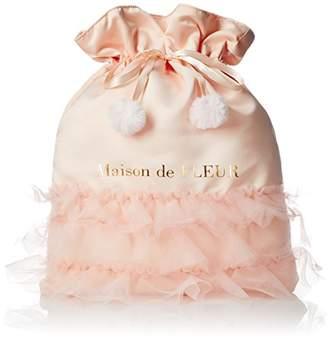 Maison de Fleur (メゾン ド フルール) - [メゾン ド フルール] フローラバレリーナ巾着 81173J90090 114 ピンク