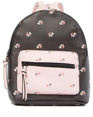 T-Shirt & Jeans Floral Dome Small Backpack