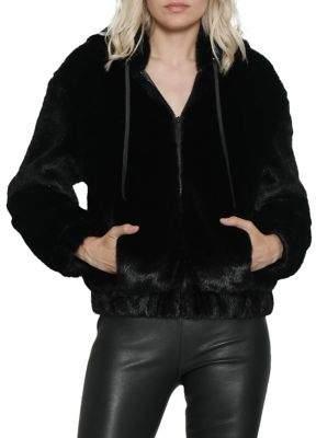 Walter Baker Faux Fur Yumi Jacket