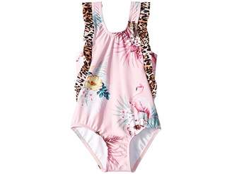 Seafolly Into The Wild Frill Tank One-Piece (Toddler/Little Kids)