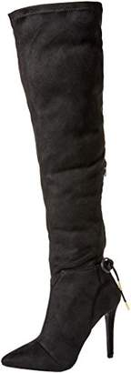 Qupid Women's MILIA-111X Over The Knee Boot