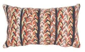 Liora Manné Visions III Braided Stripe Indoor-Outdoor Pillow