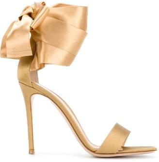 Gianvito Rossi ribbon tie sandals