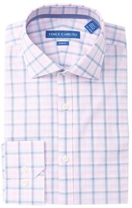 Vince Camuto Plaid Slim Fit Dress Shirt