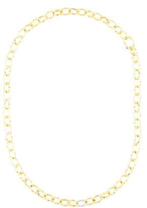 Roberto Coin 18K Diamond 'Break Away' Pois Moi Chain Necklace