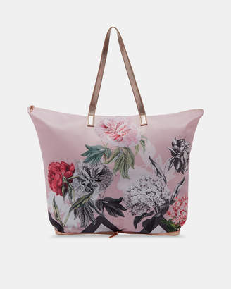 Ted Baker LEANNA Palace Gardens foldaway shopper bag
