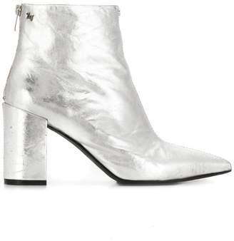 Zadig & Voltaire Zadig&Voltaire metallic heeled boots