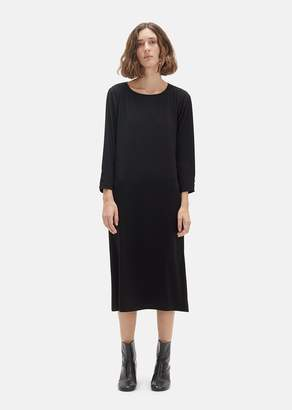 La Garçonne Moderne Long Sleeve Didion Dress Black