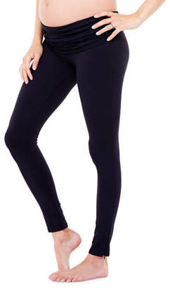 Ingrid & Isabel Maternity Active Leggings with Crossover Panel